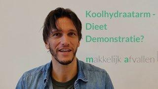 Niels Bosman voor de review koolhydraat-arm 50 dagen programma