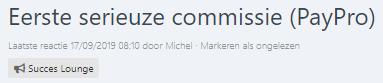 Voorbeeld geld verdienen voor de review Internet Succes Gids Affiliate Marketing Revolutie