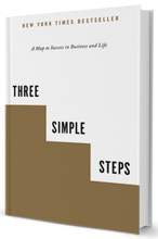 Three Simple Steps hardcover