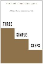 Boek voor de review three simple steps