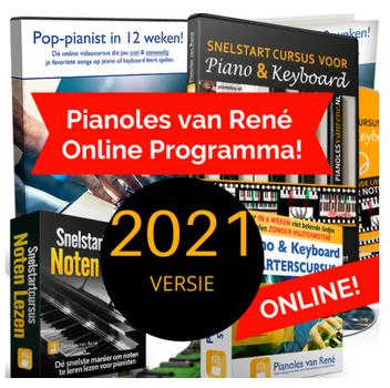 2021 versie pianoles van rene cover