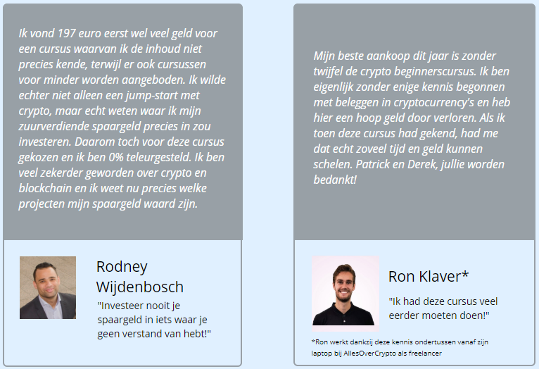 Geld verdienen met de Crypto Masterclass