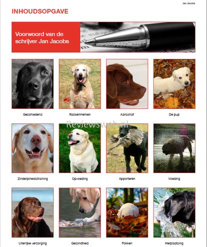 Inhoud Labrador Handboek