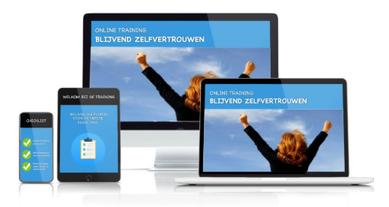 e-cursus Blijvend Zelfvertrouwen op device