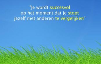 Uitspraak van Frank de Moei over succes