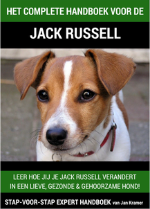 Cover van het Jack Russell Handboek voor de Jack Russel Hadboek Review