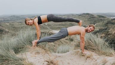 Rolf van Baalen en Melanie Poldervaart van Happy with Yoga
