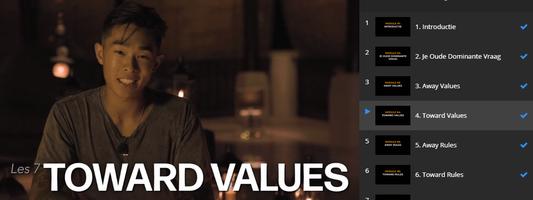 Toward Values uit de Unstoppable Mindset