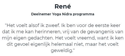 Testimonial Rene
