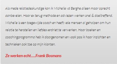 Beoordeling voor de Liefdesverdriet.nl review