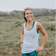 Melanie Poldervaart voor Practice Happy With Yoga