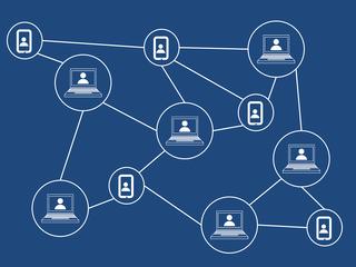 Blockchain voorbeeld
