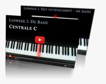 Deel 1 van de cursus piano spelen