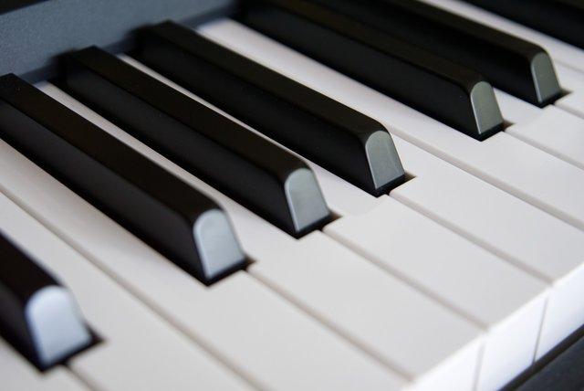 Toetsen van een piano