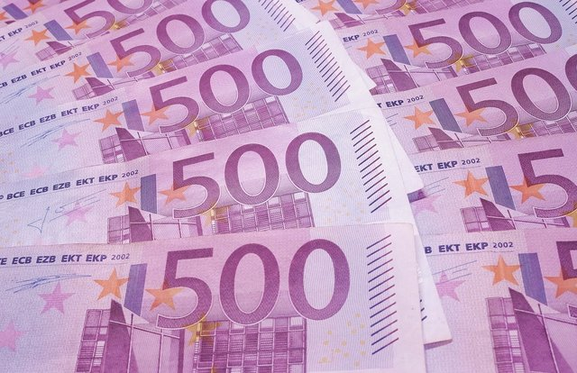 Briefjes van 500 euro