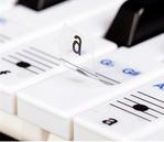 Pianotoetsstickers