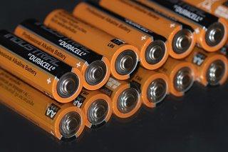 Alkaline batterijen