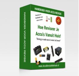 Cover van het handboek voor de Accu Revisie Programma Review