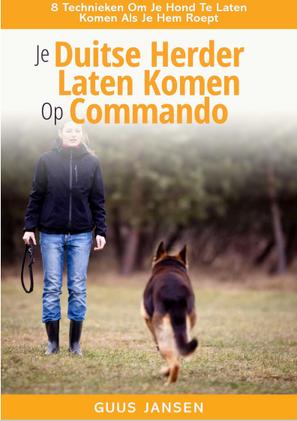 Cover Duitse Herder laten komen op commando