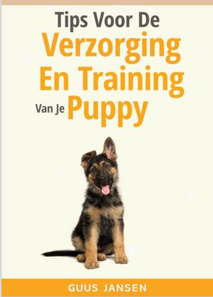 Cover Verzorging en training van je pupy